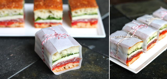 Sandwich with String