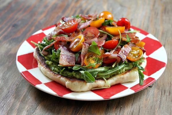 Bacon-Avocado-Griddle-Pizza