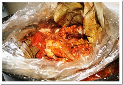 Cochinita Pibil (Yucatan Achiote Seasoned Pork)