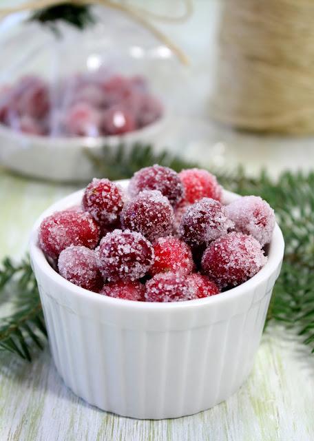 Vanilla Orange Scented Cranberries