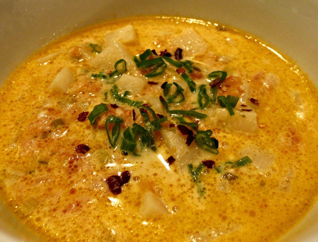 Sopa de Queso Estilo Sonora (Sonoran Cheese Soup)